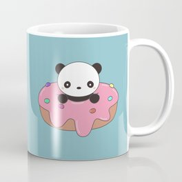 Kawaii Cute Panda Donut Coffee Mug