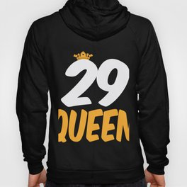29. Birthday Present 29 Years Old Funny Gift Hoody