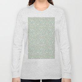 Seamless pattern on leaves theme, Autumn seamless pattern  Long Sleeve T-shirt
