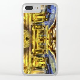 Vincent Van Gogh Palace Clear iPhone Case