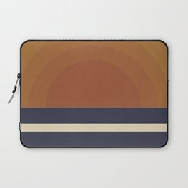 Retro Sunset Laptop Sleeve