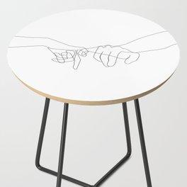 Pinky Swear Side Table