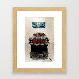 Car & Graffs Framed Art Print