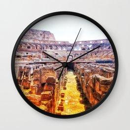 The Lions Den Wall Clock