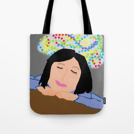 Dreaming Away the Gray Tote Bag