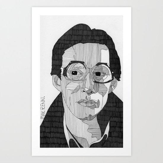 Max Renn. Art Print