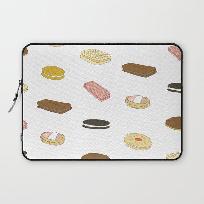 biscui - biscuit pattern Laptop Sleeve