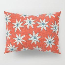 sema fire orange blue Pillow Sham