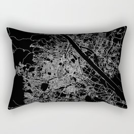 Vienna map Rectangular Pillow