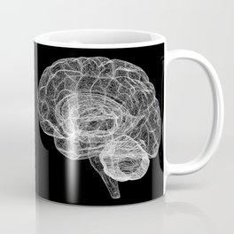 DELAUNAY BRAIN b/w Coffee Mug