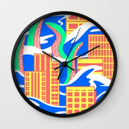 Flooded Wall Clock
