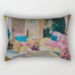 Golden Girls living room Rectangular Pillow