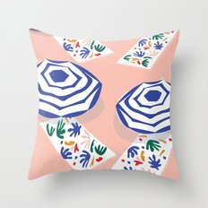 Matisse by the sun Throw Pillow