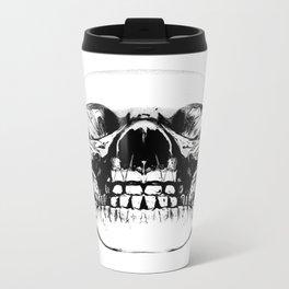 Crystal Skull Metal Travel Mug