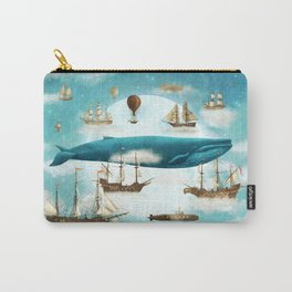 Ocean Meets Sky - revised Carry-All Pouch