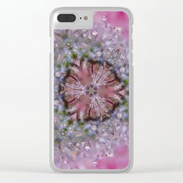 Pink Gelato Clear iPhone Case