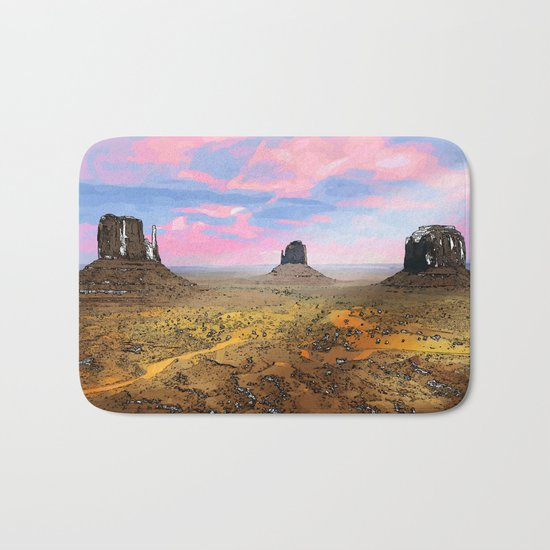Monument Valley Bath Mat
