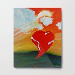 TOMORROW'S HEART Metal Print
