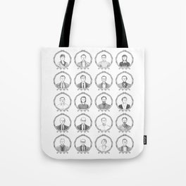 South American Authors Tote Bag