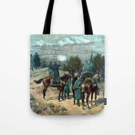 Missionary Ridge -- The Battle Of Chattanooga Tote Bag