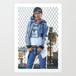Katy P Moschino Bitch Art Print