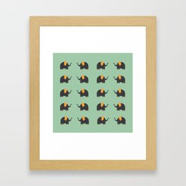 Elephant Parade Framed Art Print