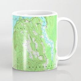 Vintage Map of Lake George New York (1966) Coffee Mug