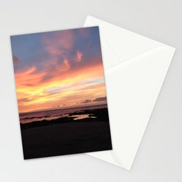 Cotton candy skies Stationery Cards