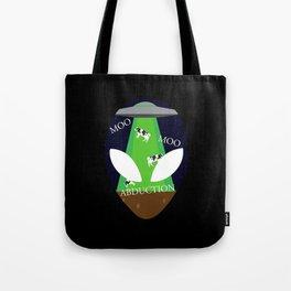 Moo Moo Abduction Tote Bag