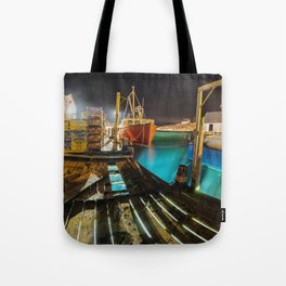 Light in the Wharf Tote Bag