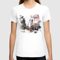 poland T-shirts featuring Poland - Krawkowskie Przedmiescie, Warsaw by viva la revolucion