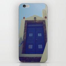 Santorini Door VII iPhone & iPod Skin