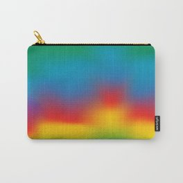 Abstract Colorful Aurora Carry-All Pouch