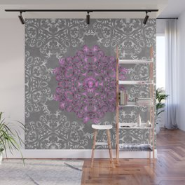 Mandala Pattern with Glitters II Wall Mural