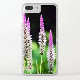 Hong Kong Wildflower Display Clear iPhone Case