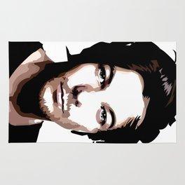 LOUIS TOMLINSON Vector Portrait Rug