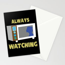 Microwave Microwave oven gift idea Stationery Cards