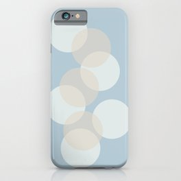 Floating Circles iPhone Case