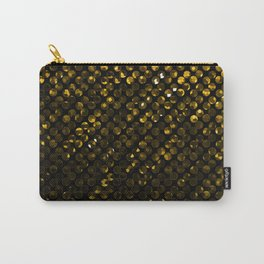 Crystal Bling Strass Gold G321 Carry-All Pouch