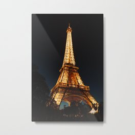 Eiffel Tower, Paris, France. Metal Print