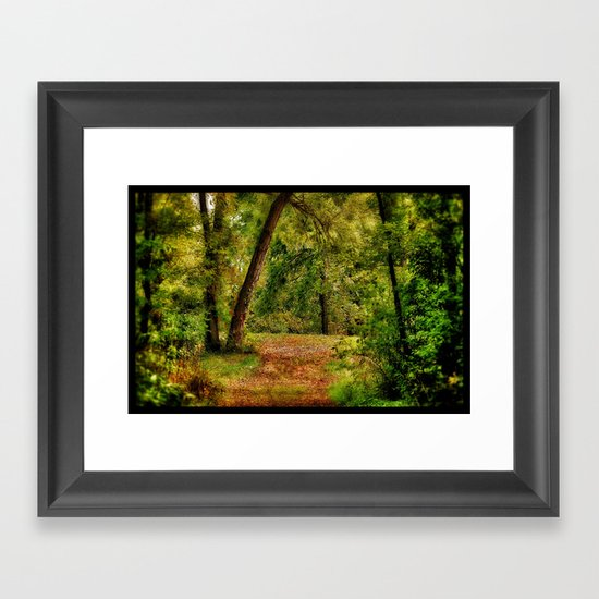 Secret Framed Art Print