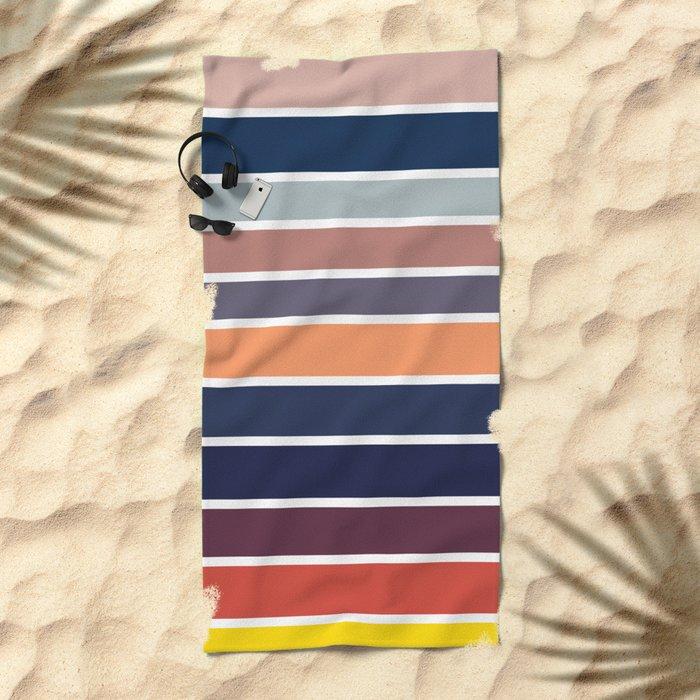 Ocean Sunset #2 Beach Towel