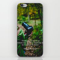 photographer iPhone & iPod Skins featuring Photographer by Jo Bekah Photography
