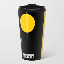 The Moon in Minimal Travel Mug