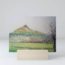 Roseberry from newton Mini Art Print
