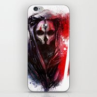 darth iPhone & iPod Skins featuring Darth Nihilus by Vincent Vernacatola