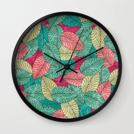 Let the Leaves Fall #06 Wall Clock