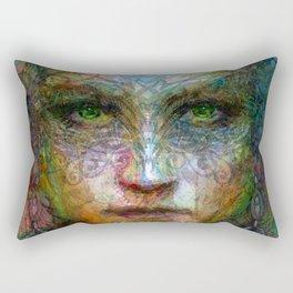 Tribal girl Rectangular Pillow