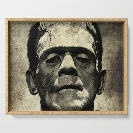 Frankenstein Grunge Serving Tray