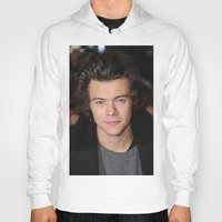 harry styles Hoodies featuring Harry Styles by behindthenoise